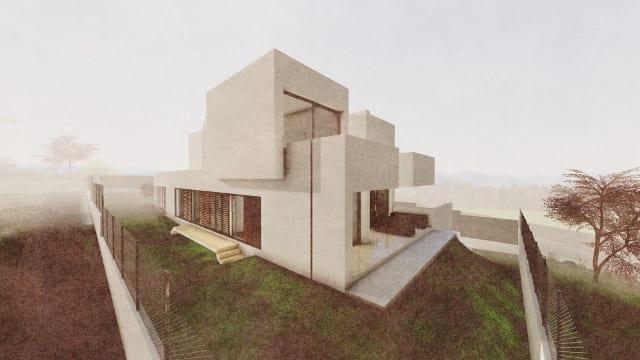 Architectural Design Bim Software Camarines House Biblus