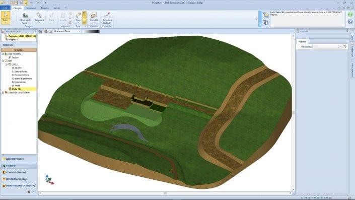 Earthworks cut & fill aspects