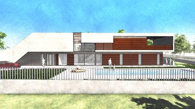 Casa Roncero - North - West elevation