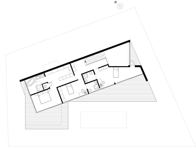 First floor plan of JC HOUSE