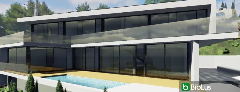 JC House project remodelled with the Edificius BIM software