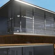 Disegnare una facciata con un BIM software Daegu Gosan Public Library