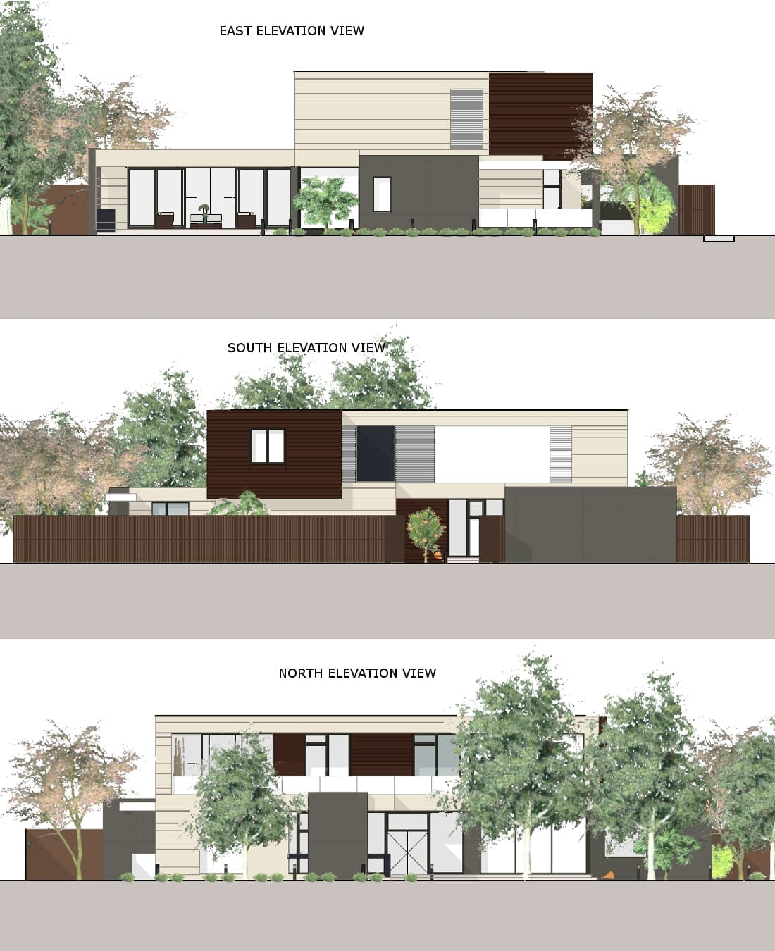 Elevations Country House in Marfino