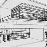 Facade with visual effect Daegu Gosan Public Library with Edificius