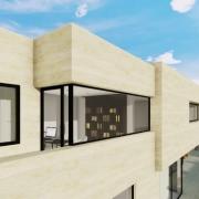 Creating a corner window with a BIM software Edificius