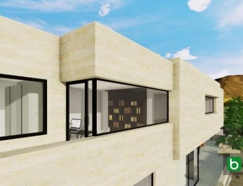 Creating a corner window with a BIM software