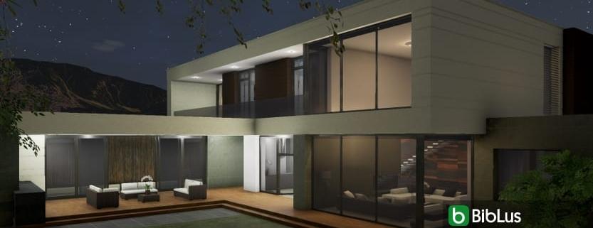 Architectural design with a BIM software: Country House in Marfino_Edificius