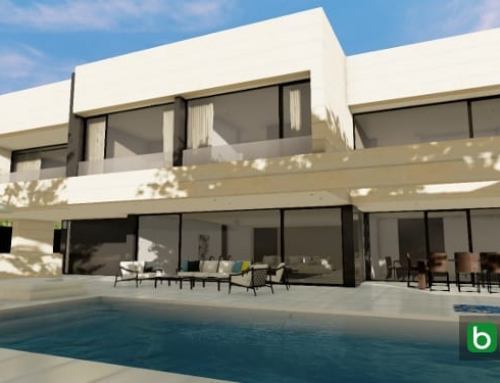 Designing a villa and garden with a BIM software: Park House