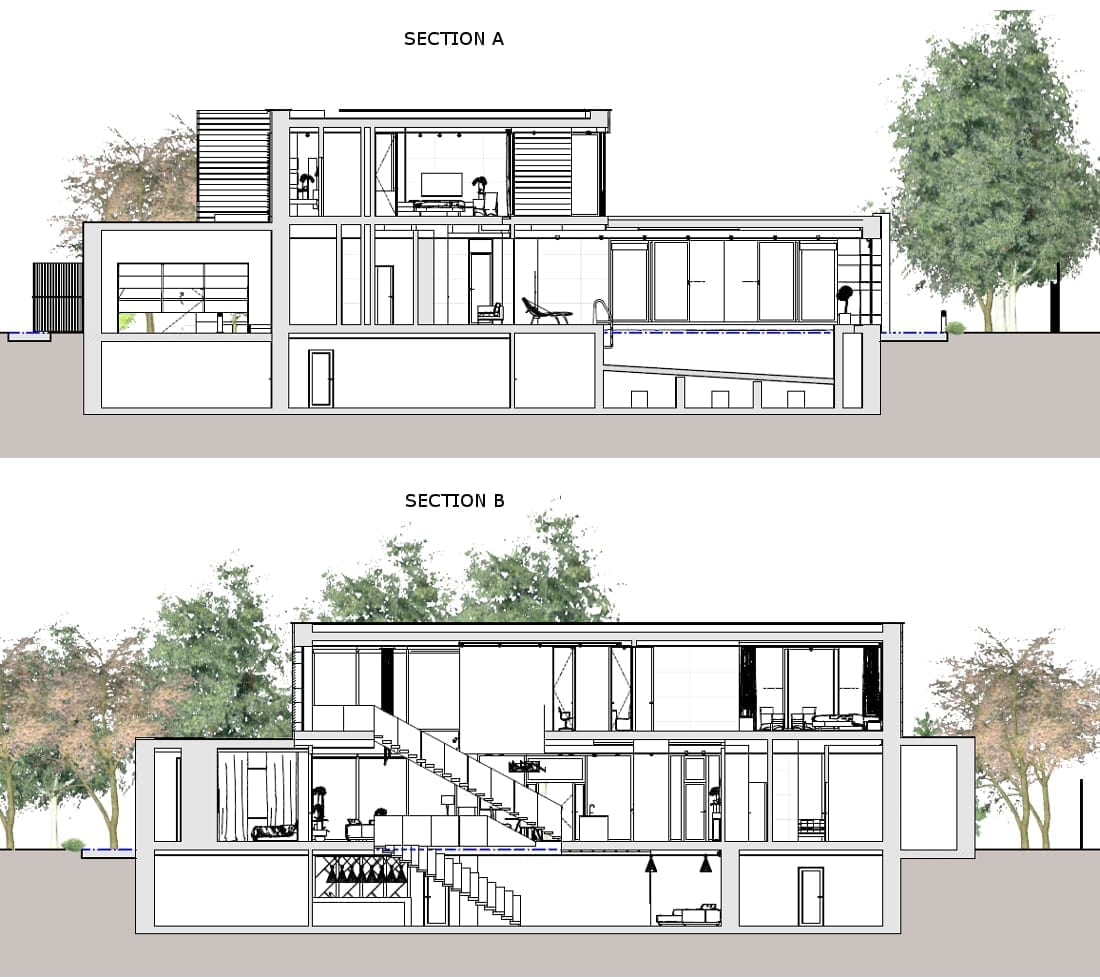 Sections Country House in Marfino