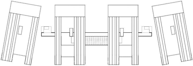 Plan of Nahil Kan building