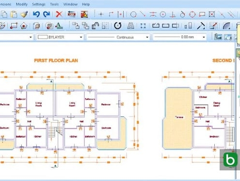 automatic cost estimate from CAD projects
