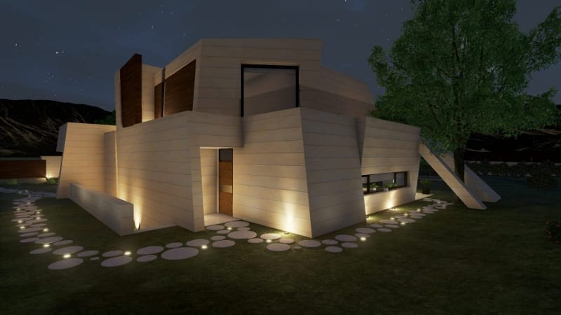Back side_Marble&Bamboo_Edificius_BIM software