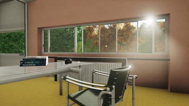 Villa Savoye designed with a BIM software (part 2) - BibLusVilla Savoye Kitchen