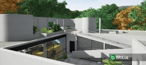 Redesigning Villa Savoye with a BIM software Edificius