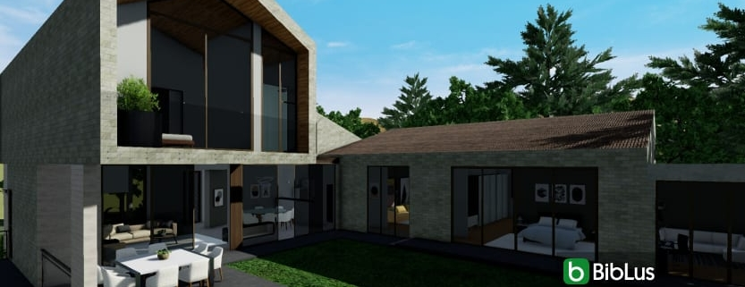 How to design a single-family residence with a BIM Edificius