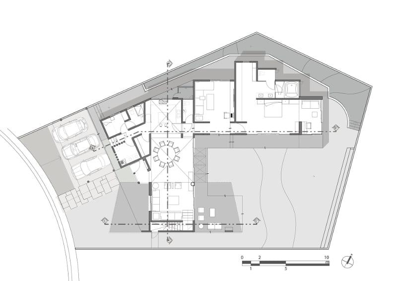 Second floor LPZ House
