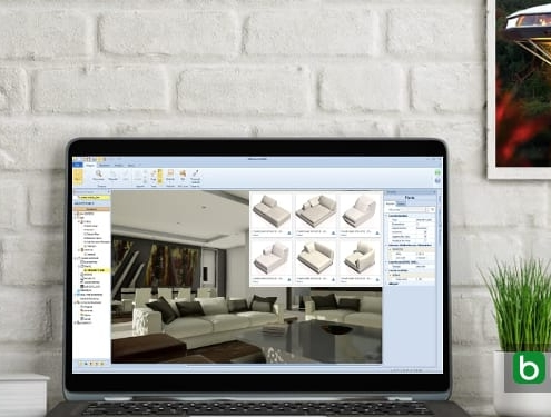 The BIM Object Library explained Edificius