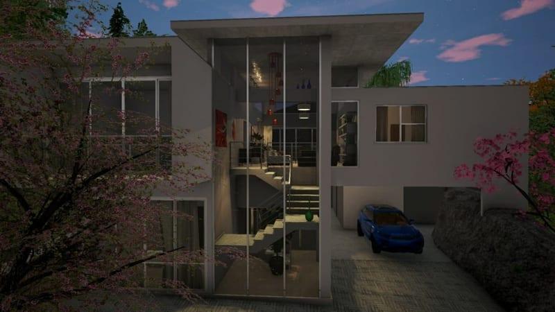 Interiors lighting design_Edificius BIM software