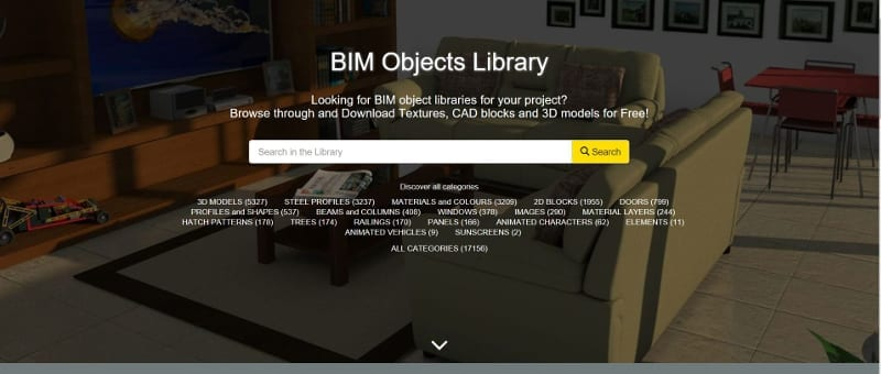 online BIM Objects Library ACCA software