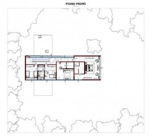 Plan-view-First-Floor-Casa-En-Los-Cisnes-software-BIM-Edificius