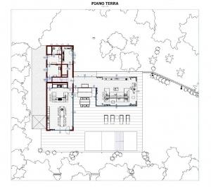 Plan-view-Ground-Floor-Casa-En-Los-Cisnes-software-BIM-Edificius