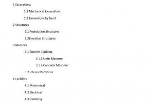 index structure