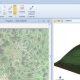 Modelling a 3D terrain with contour lines software BIM Edificius