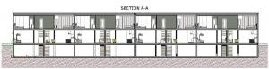 terraced-houses_Lafayette-Park-Sezione-A-A_software-BIM-architecture-Edificius