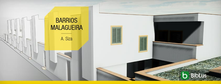 Townhouses by famous architects. The Siza's project with DWG drawings and 3D BIM models ready for download_Barrios Malagueira-A. Siza