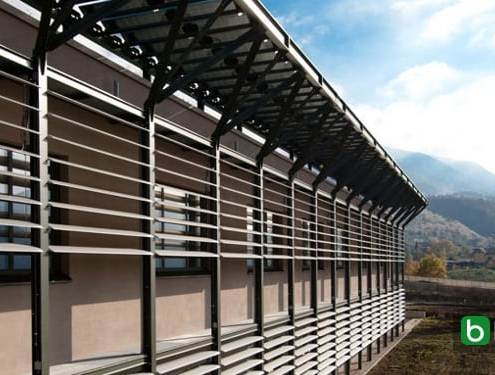 How to design sun shading structures and brise soleil with a BIM software