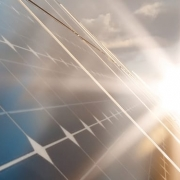 Hybrid solar tiles have been developed to use both the solar photovoltaic and solar thermal effects