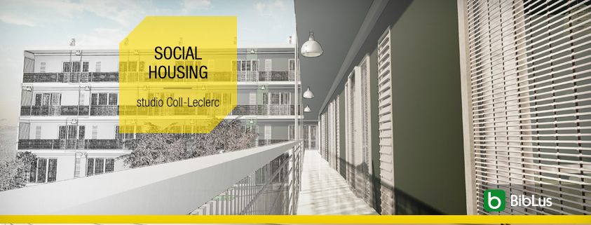 Social housing famous projects with DWG drawings and 3D BIM models ready for download_software-for-architects-Edificius