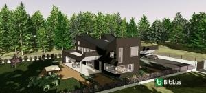 Progetti di case unifamiliari da scaricare_software-BIM-Edificius