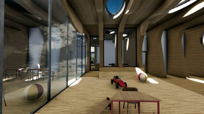 Interior-nursery_La-Balena_Render_school-buildings-projects-software-BIM-architecture-Edificius