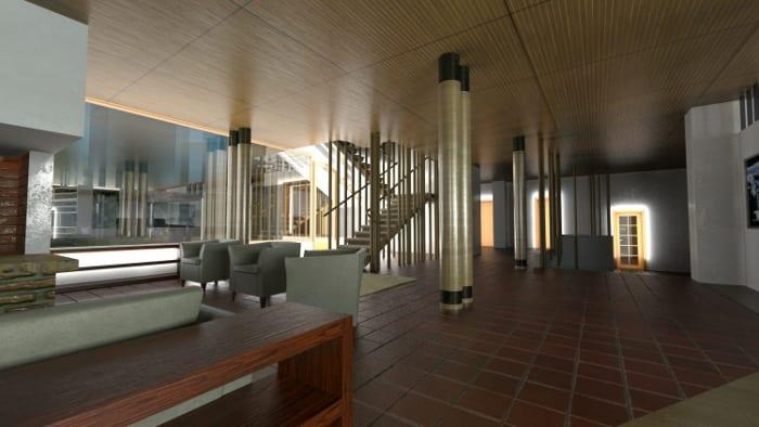 Villa-Mairea_Alvar-Aalto-living-render-software-BIM-Edificius