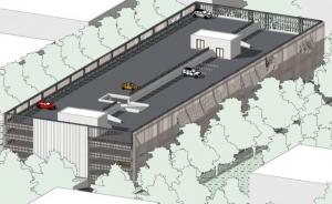 Axonometric-view_Project-parking-DWG_software-BIM-architecture-Edificius
