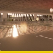 Car parking design types examples and architectural model 3D BIM_software Edificius