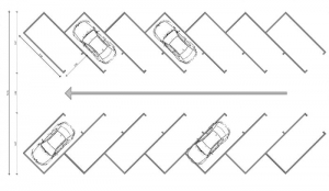 45°- angle-scheme-parking