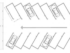 60°- angle-scheme-parking