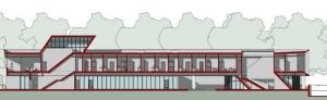 Harvey-Pediatric-Clinic_B-B-section_Edificius_software-BIM-architecture