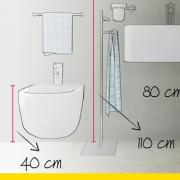 bathroom design with a BIM architectural software