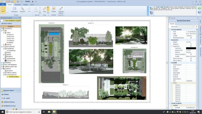 Project-document- Landscape-design-plans
