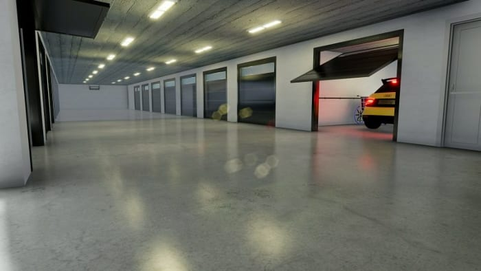 Render box _How to design a garage plan_Edificius BIM software