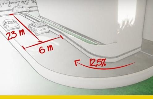 Parking garage ramp design the complete guide_architectural-bim-software-edificius