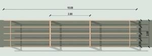 Pergola project floor plan-BIM architectural software Edificius