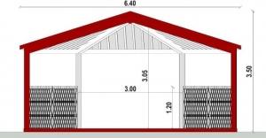 gazebo-project-section-BIM-architectural-software-Edificius