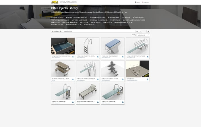 pool-project_object-catalogue-BIM