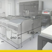 Commercial kitchen design: 6 fundamental rules_3D architecture_Edificius