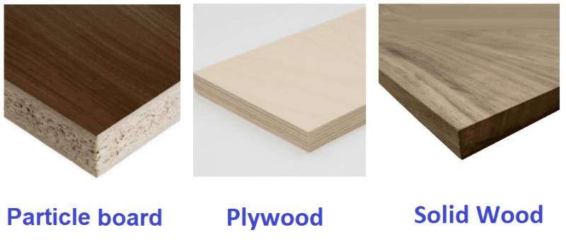Cabinet materials examples