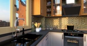 Modern kitchen_ProRender_How to design a kitchen_Edificius